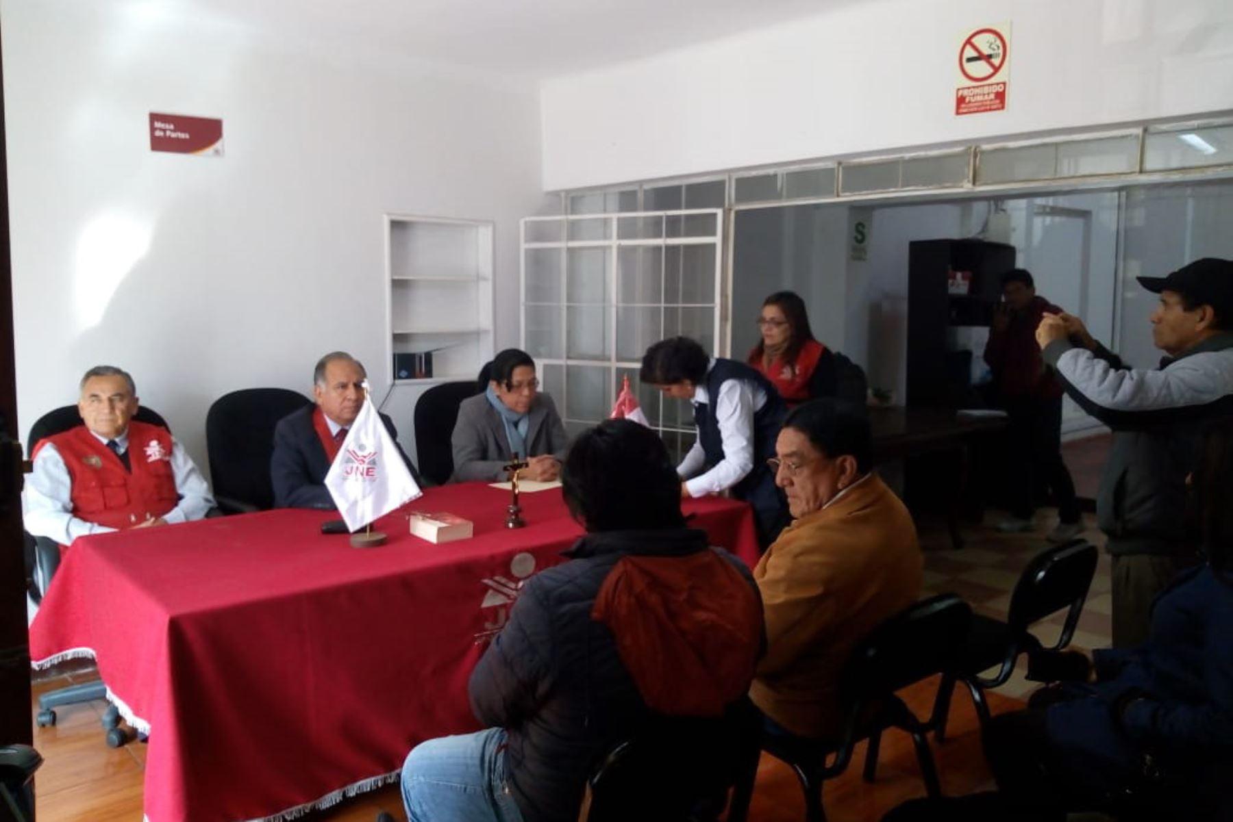 Declaran nulidad de elecciones en distrito ayacuchano de Chipao