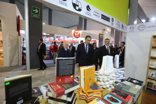 El presidente Vizcarra inauguró la 24.ª Feria Internacional del Libro de Lima