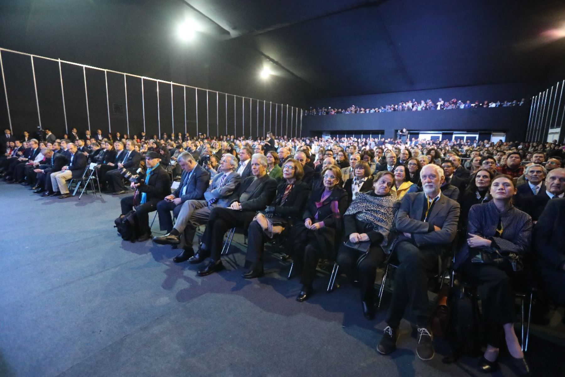 El presidente Martin Vizcarra participo en la ceremonia de inauguración de la 24.ª Feria Internacional del Libro de Lima.FotoANDINA/Prensa Presidencia