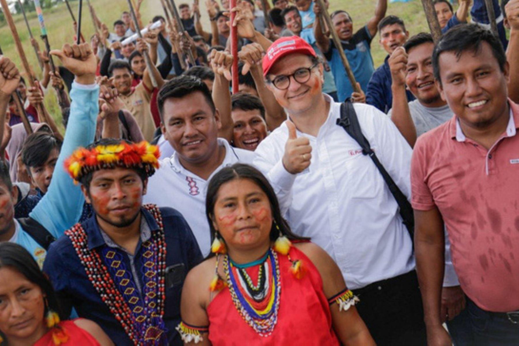 El titular de Energía y Minas, Francisco Ísmodes, resaltó el restablecimiento del diálogo con las federaciones indígenas de las comunidades colindantes al Oleoducto Norperuano.