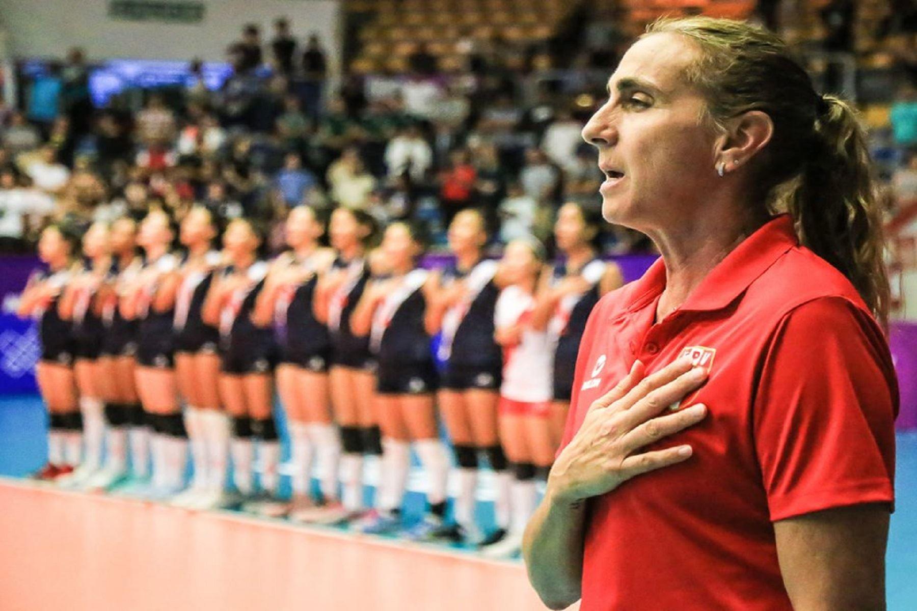 Perú ganó a República Dominicana. Foto: FPV.