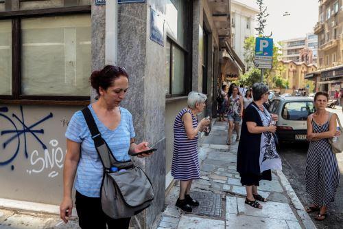 Terremoto de magnitud 5,1 derrumba diez edificios en Atenas
