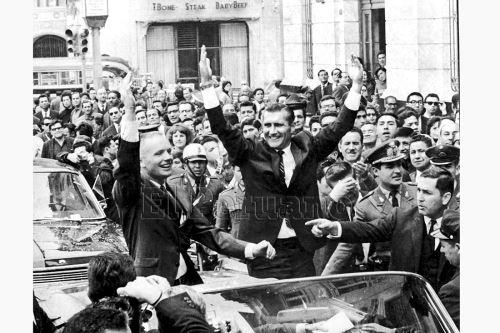 El día que Neil Armstrong conquistó Lima