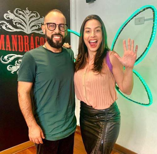 Natalia Salas y Franco Benza.
