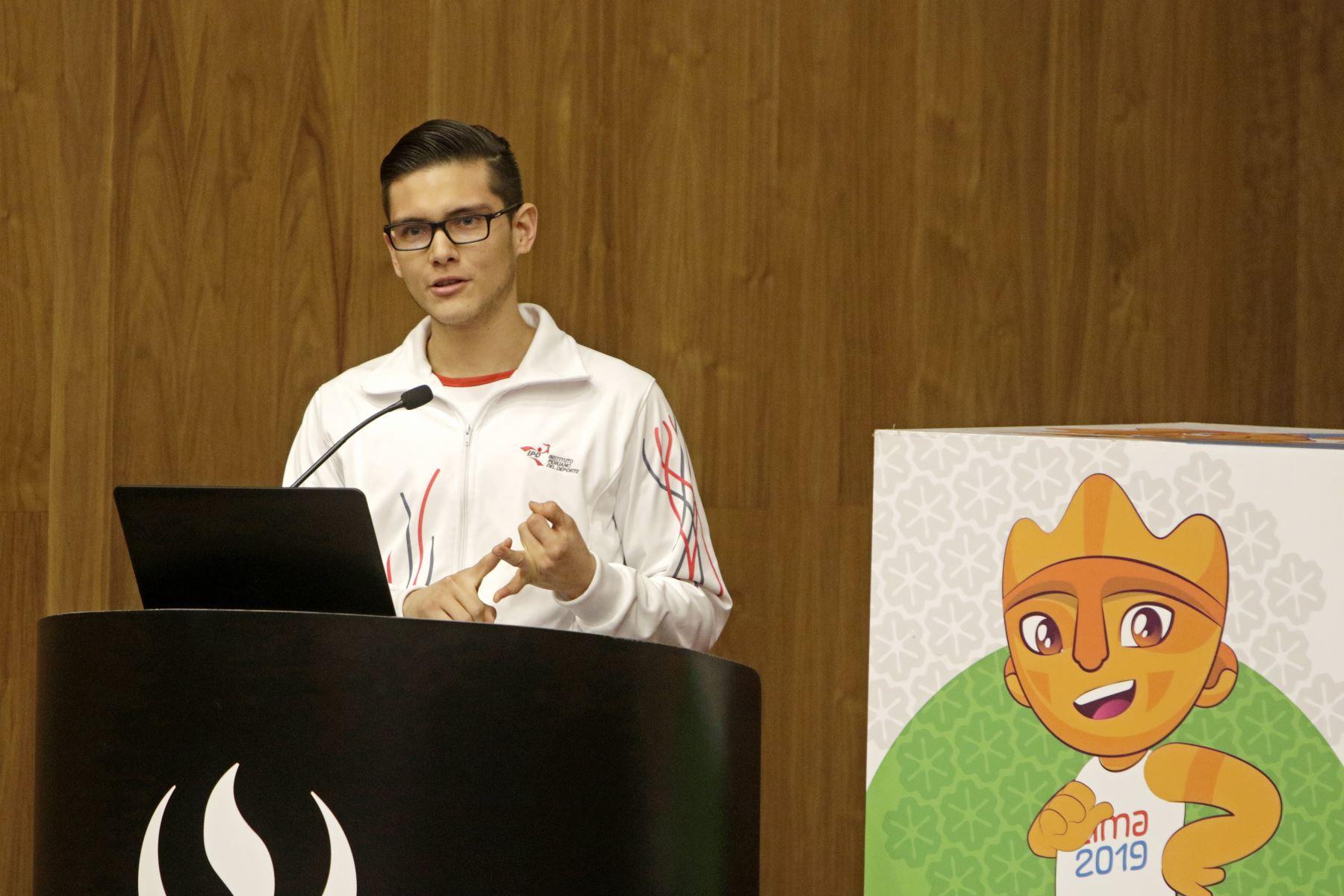 Lima 2019 participó en homenaje a deportistas de la UPC que participarán en los Juegos Panamericanos y Parapanamericanos. Foto: ANDINA/LIMA 2019