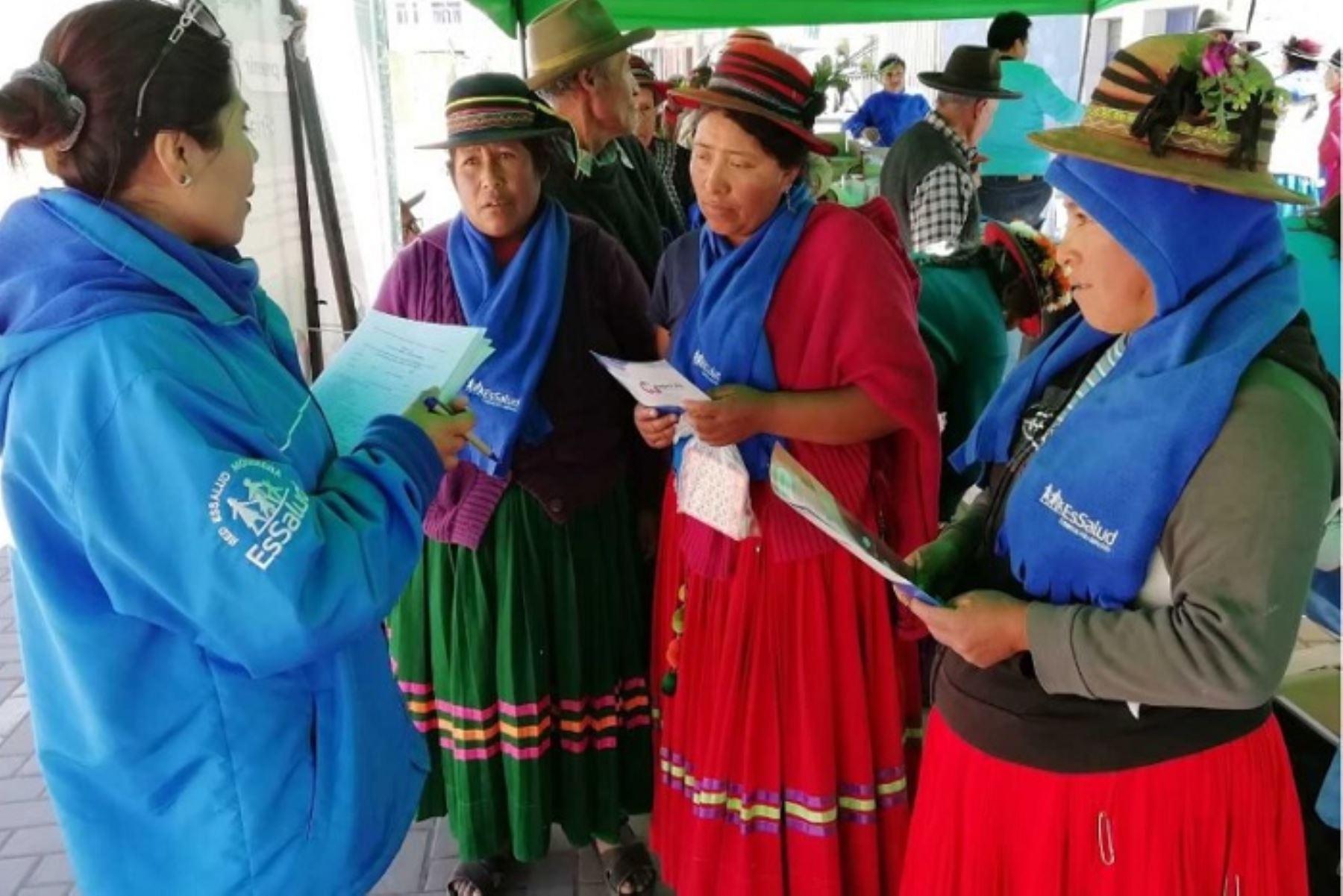 El Seguro Social de Salud (EsSalud) viene adoptando las acciones necesarias para garantizar la atención oportuna a la población del sur del país que resulte afectada por la emisión de cenizas del volcán Ubinas, en la región Moquegua.