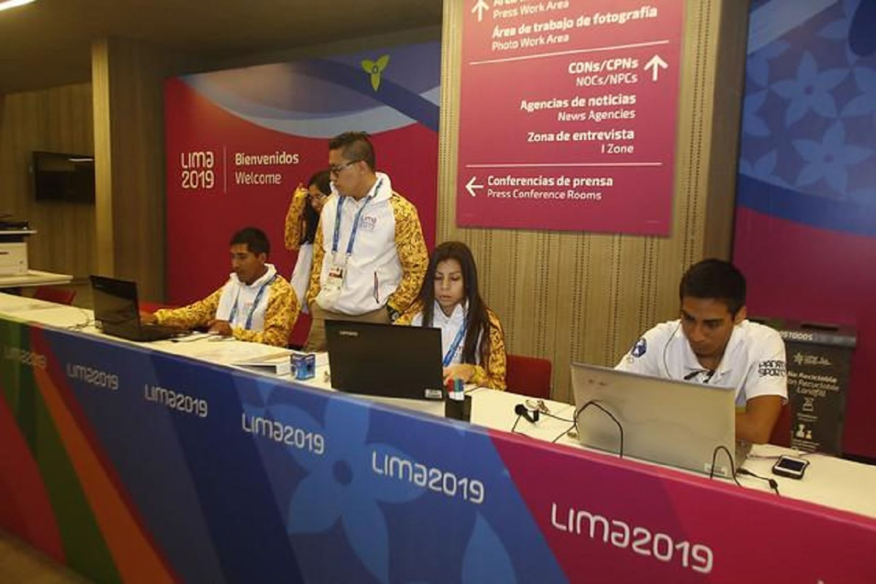 Más de 1500 periodistas cubrirán los Juegos Panamericanos 2019. Foto: ANDINA/Lima 219
