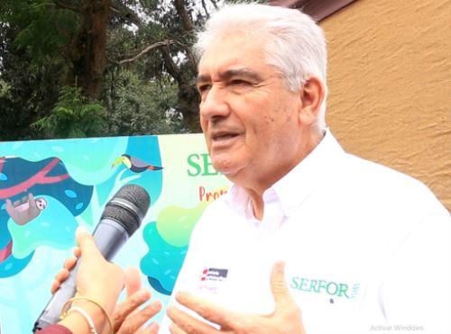 Alberto Gonzáles Zuñiga-Guzmán, director ejecutivo del Serfor.