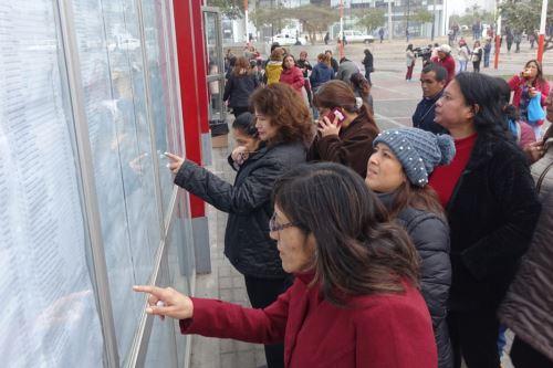 Miles de maestros participan de la Prueba Única Nacional del Concurso De Nombramiento 2019 para ingresar a la CPM