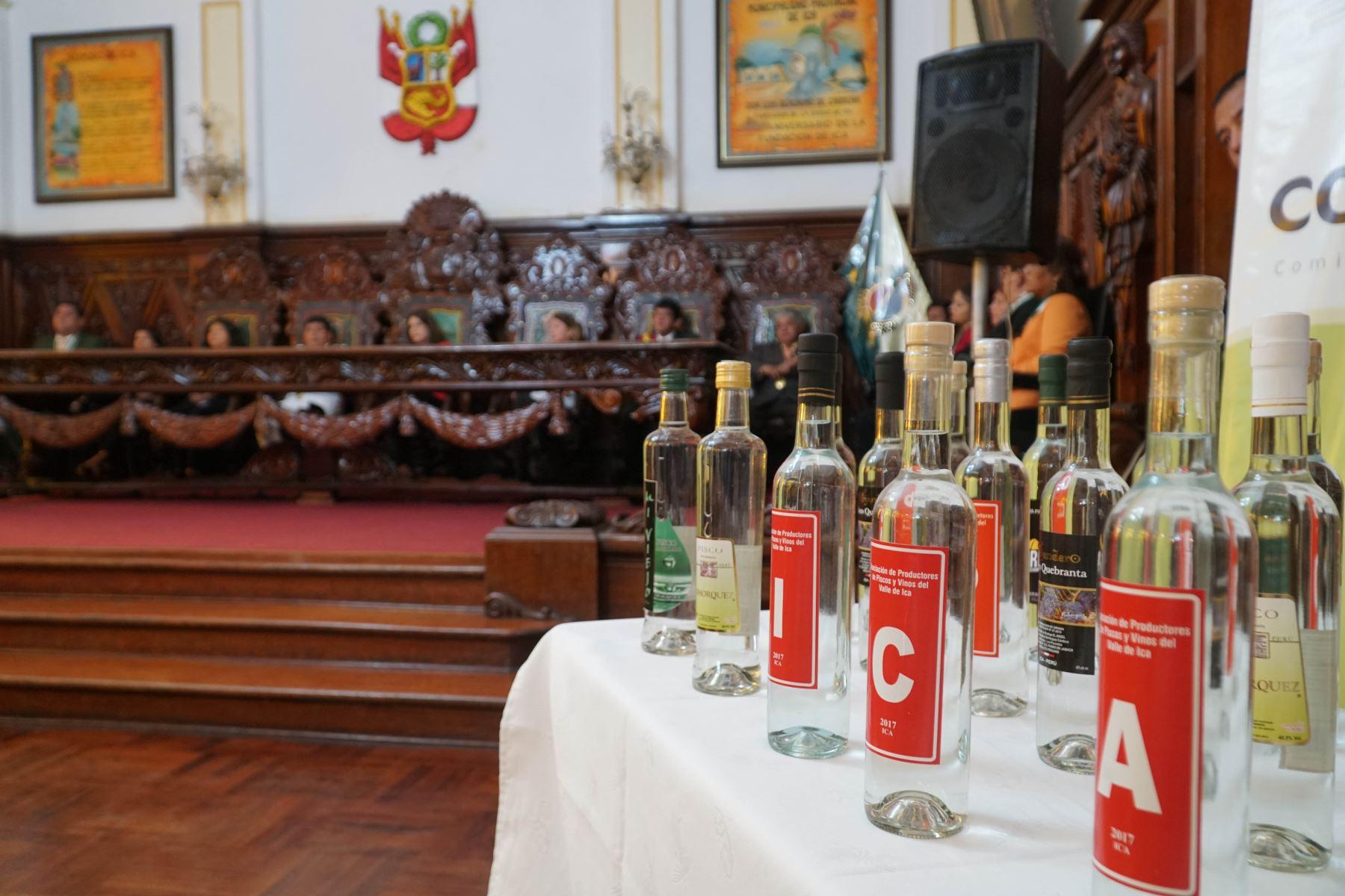 El Perú cuenta con el reconocimiento del pisco en 71 países, de los cuales 30 reconocen la denominación de origen en exclusiva a nuestro país. Foto:ANDINA/Cortesía Genry Bautista