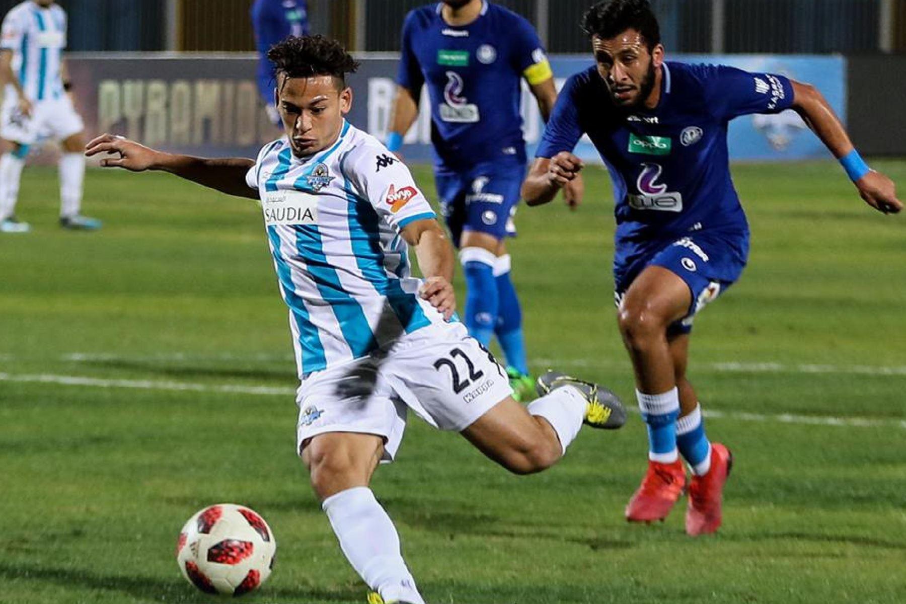 Cristian Benavente jugará en una de las ligas top de Europa. Foto: Facebook/Pyramids FC