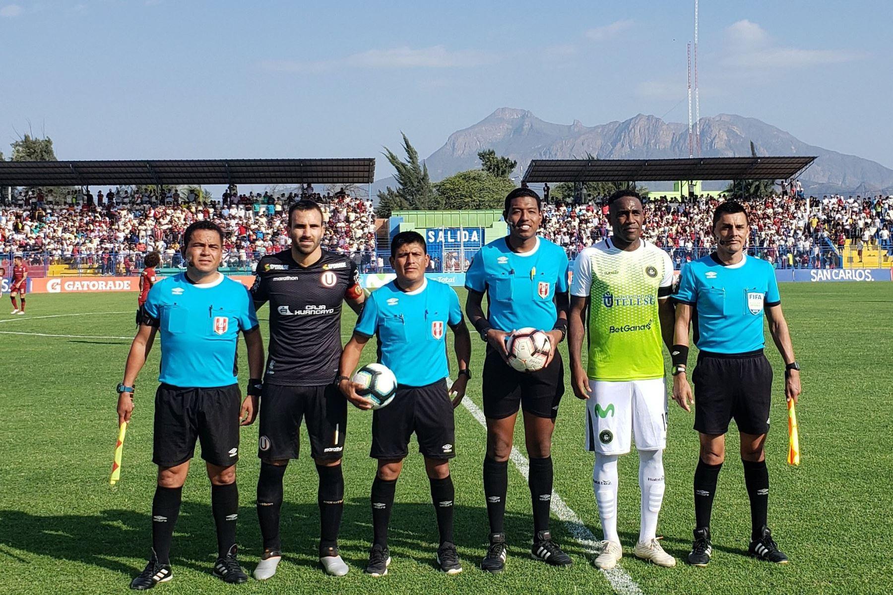 Universitario visita Lambayeque para enfrentar  a Pirata FC en partido de la segunda jornada del torneo Clausura de la Liga 1 2019.  Foto: Difusión Universitario