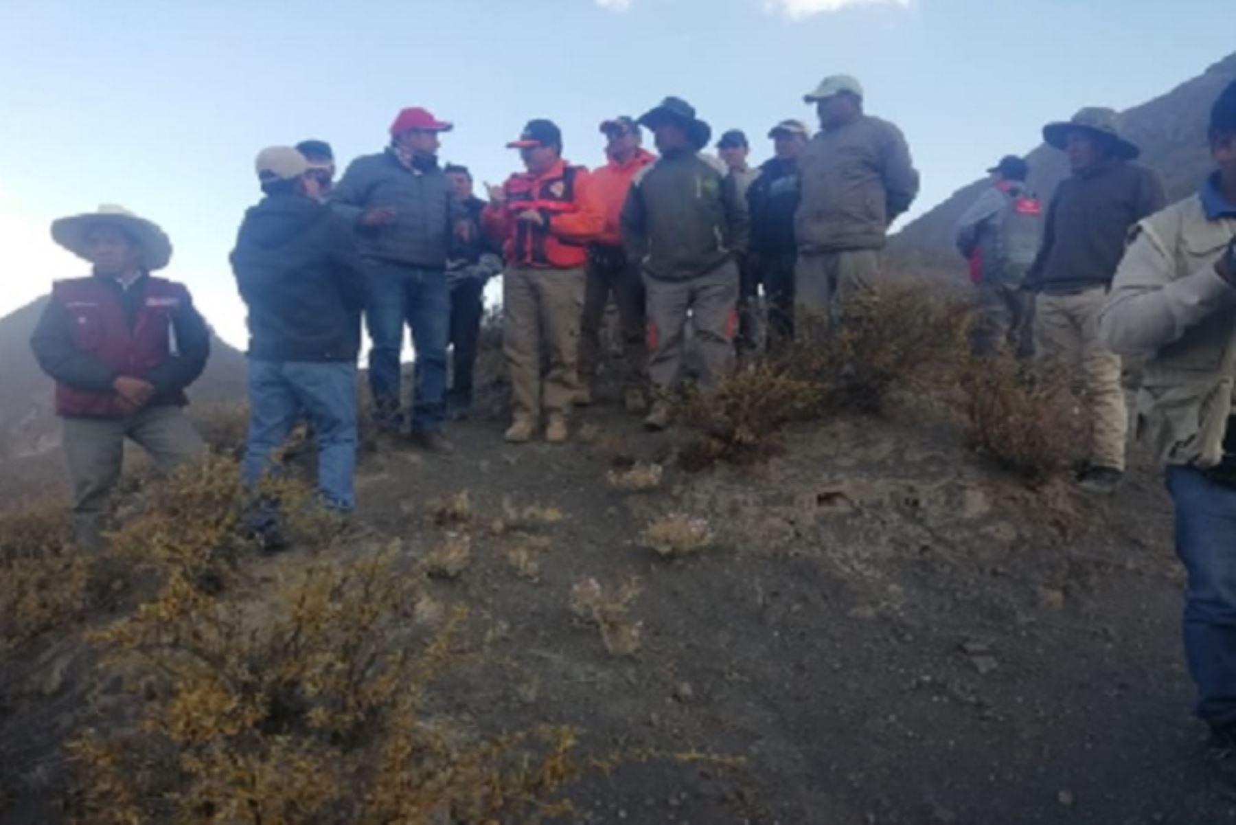 Vivienda de emergencia enviarán para afectados por explosiones del volcán Ubinas