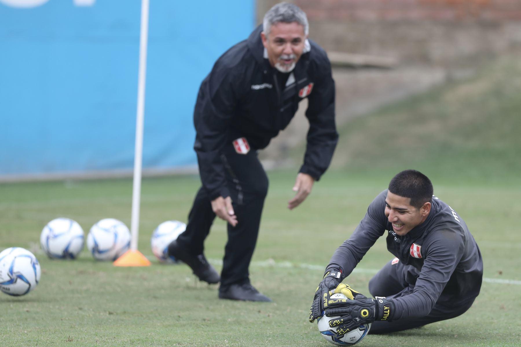 La selección peruana de futbol sub20 entrena para su debut en los Juegos Panamericanos Lima 2019. Foto: ANDINA/Difusión FPF