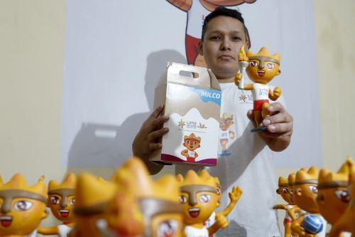 Lima 2019: Internos del penal de Lurigancho elaboran cerámica de la mascota oficial MILCO