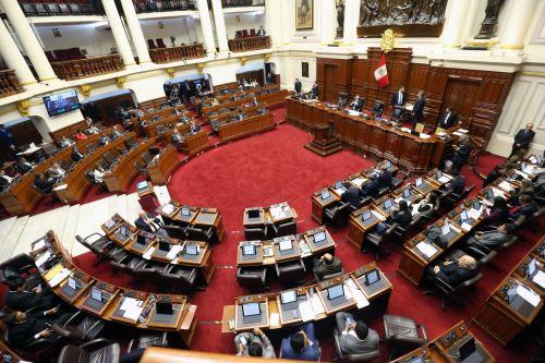 Pleno del Congreso debate proyectos de reforma política presentadas por el Poder Ejecutivo
