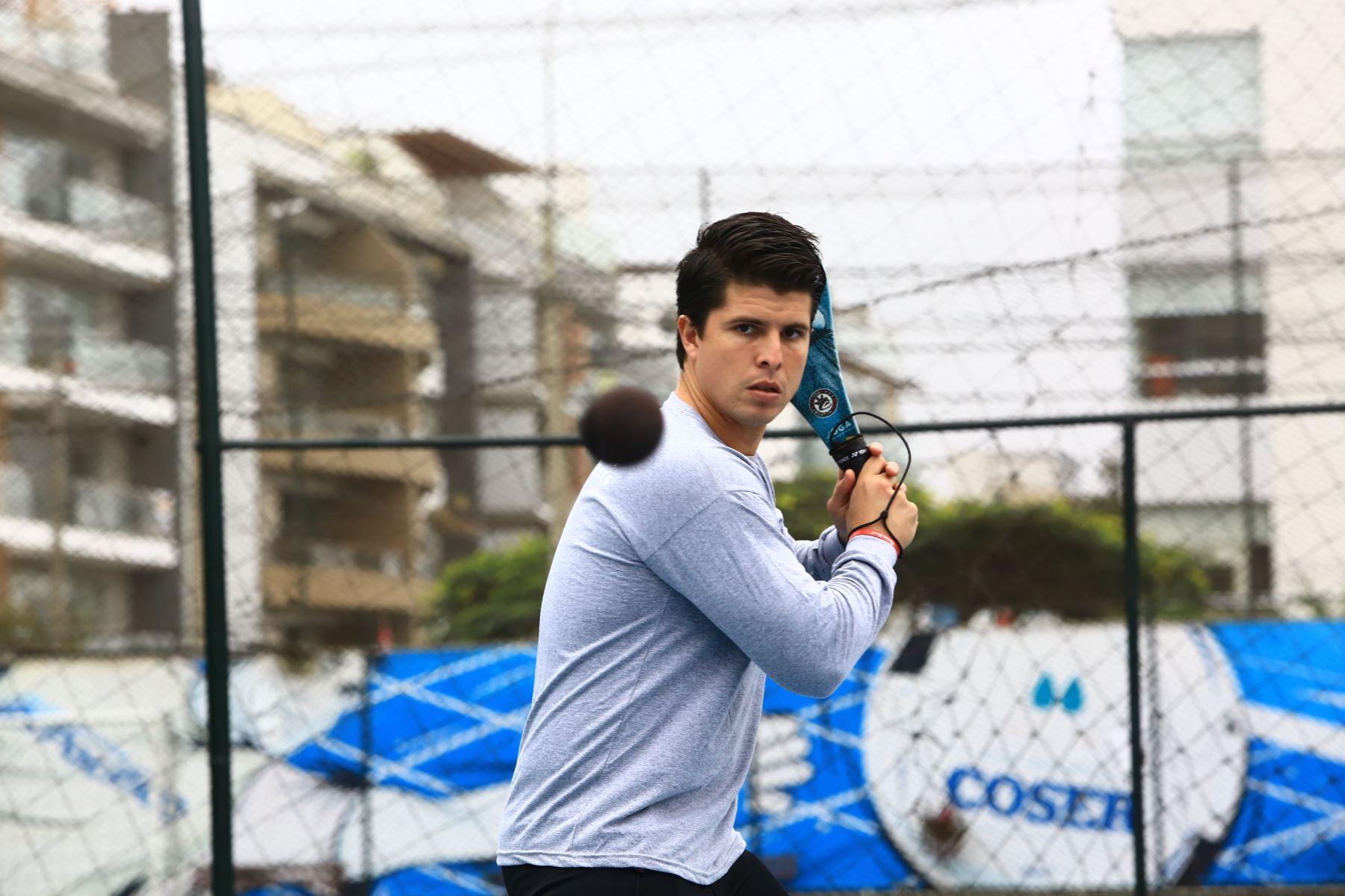 Kevin Martínez sueña con la medalla de oro. ANDINA/Pedro Cardenas