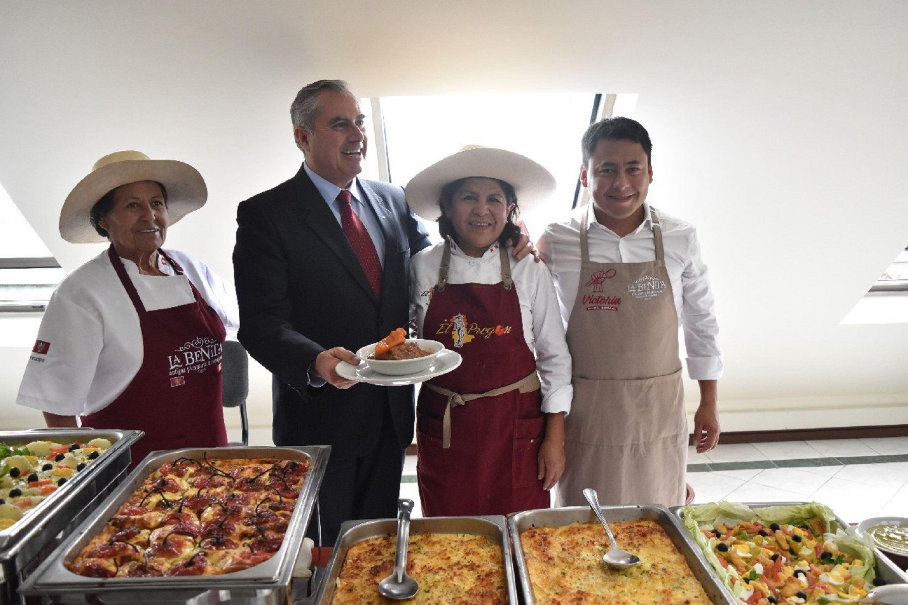 Parlamento Andino aprueba impulso internacional de gastronomía de la región. Foto: difusión.