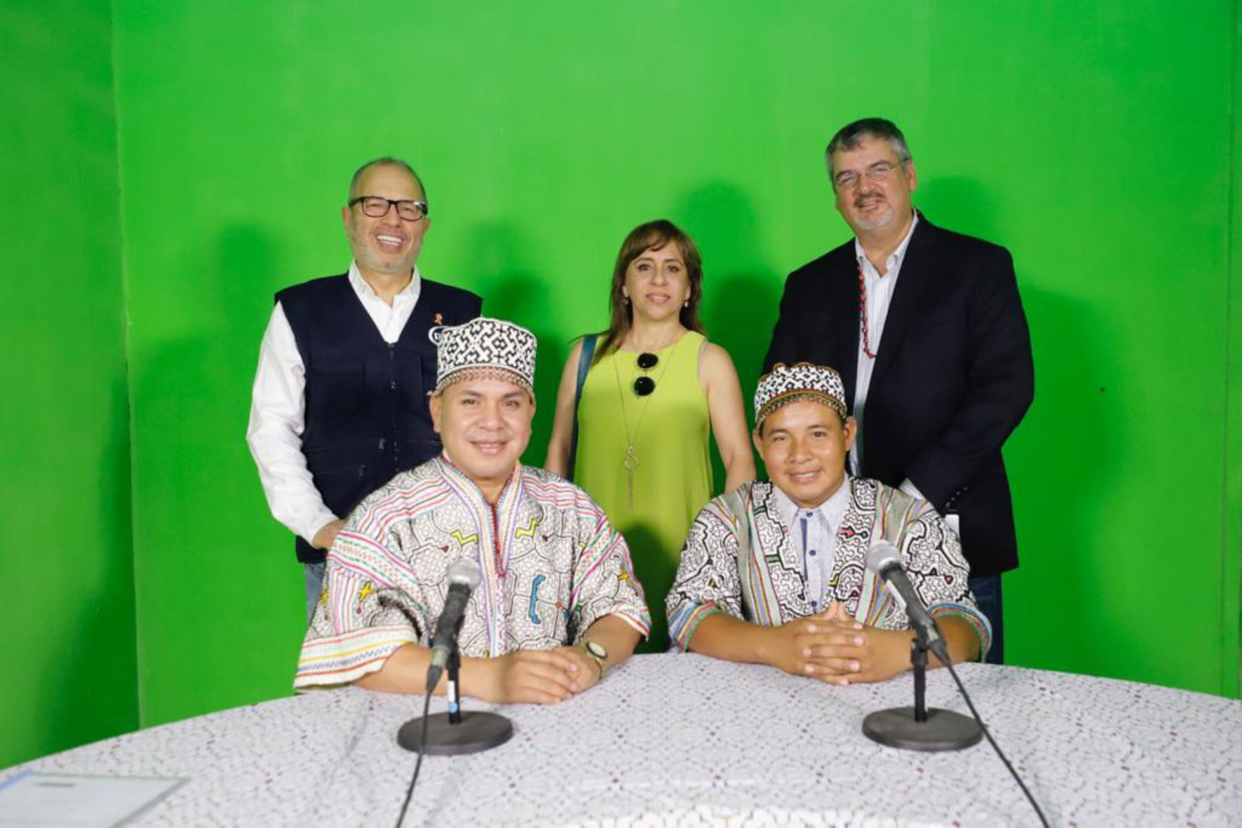 IRTP emite el primer programa informativo del Estado en shipibo-konibo. ANDINA/Difusión