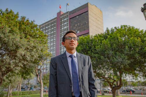 Hanz Ponce Acosta es un joven servidor público que labora en la Sunat y apuesta por entidades públicas transparentes. ANDINA/Difusión