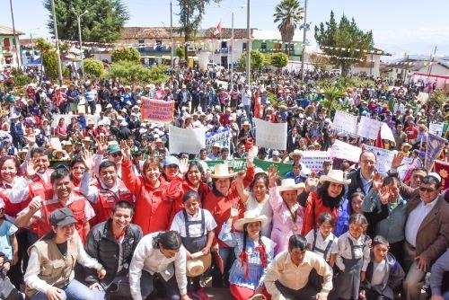 MIDIS realiza Feria multisectorial  e inaugura nuevo punto de pago de Pensión 65 en Cajamarca