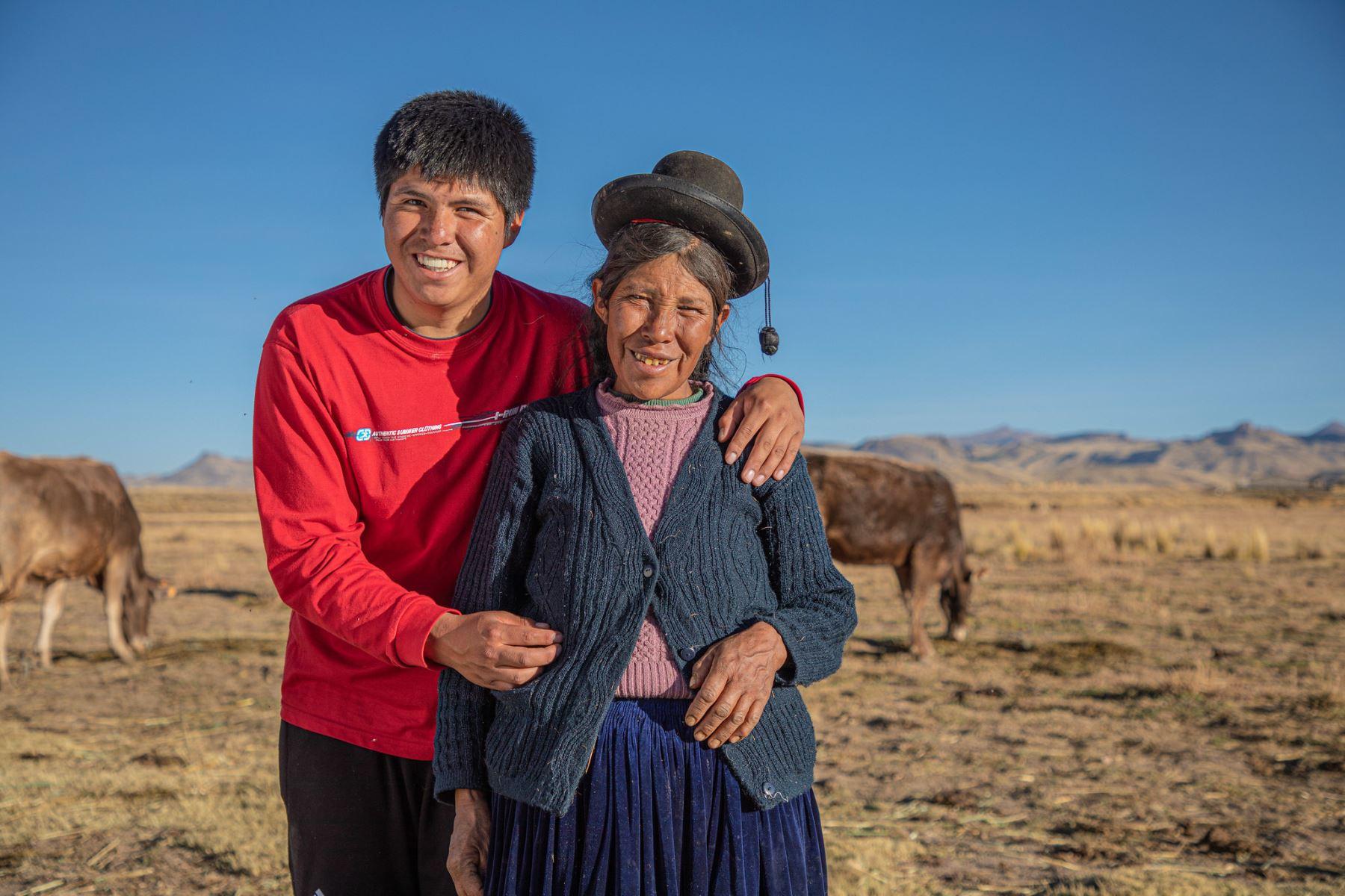 Conoce a Teodoro Quispe, el talento de Beca Permanencia que anhela potenciar la ganadería de Puno