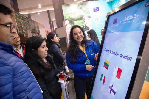Unión Europea en Perú participa por primera vez en Feria Internacional del Libro. Foto: ANDINA/Difusión.
