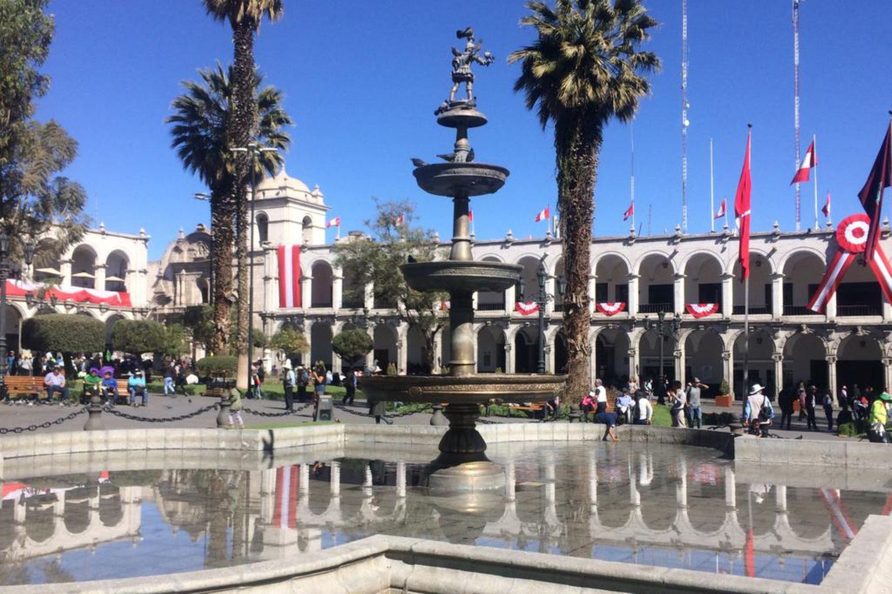 Ante el paro indefinido que acatan desde hoy sectores de Arequipa en rechazo del proyecto Tía María, 240 fiscales se encuentran en alerta máxima. Foto: ANDINA/Difusión