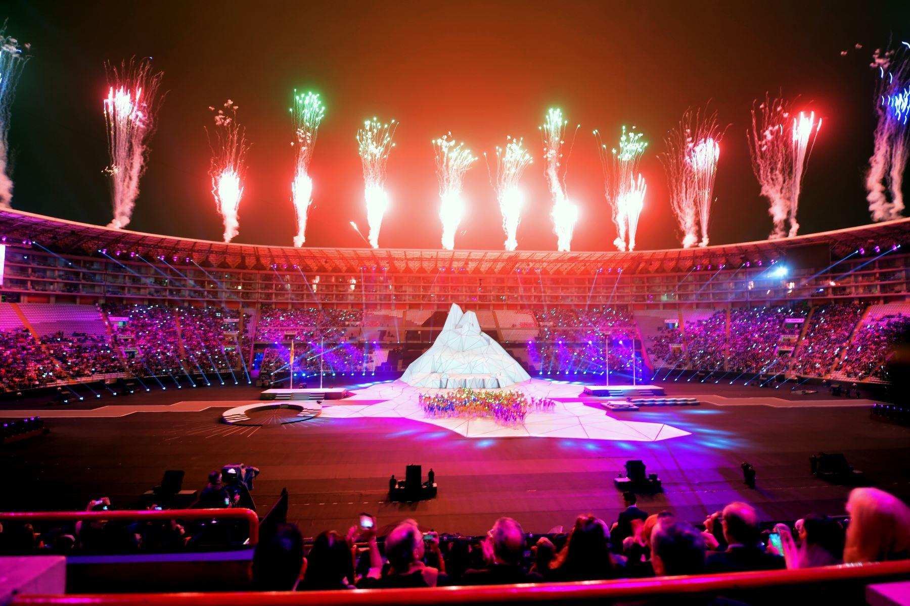 Perú se muestra hoy al mundo con la ceremonia de inauguración. AFP