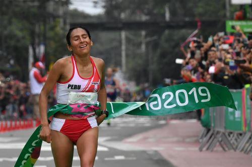 Gladys Tejeda  clasifica a los Juegos Olímpicos Tokio 2020