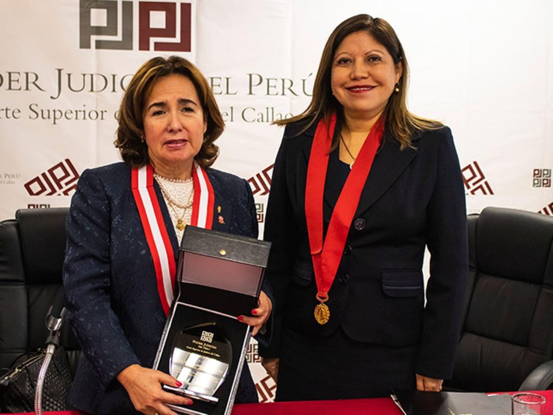 """Autoridades del Poder Judicial del Callo implementaron la aplicación """"Botón de pánico"""" para atender los casos de violencia contra la mujer en el primer puerto."""