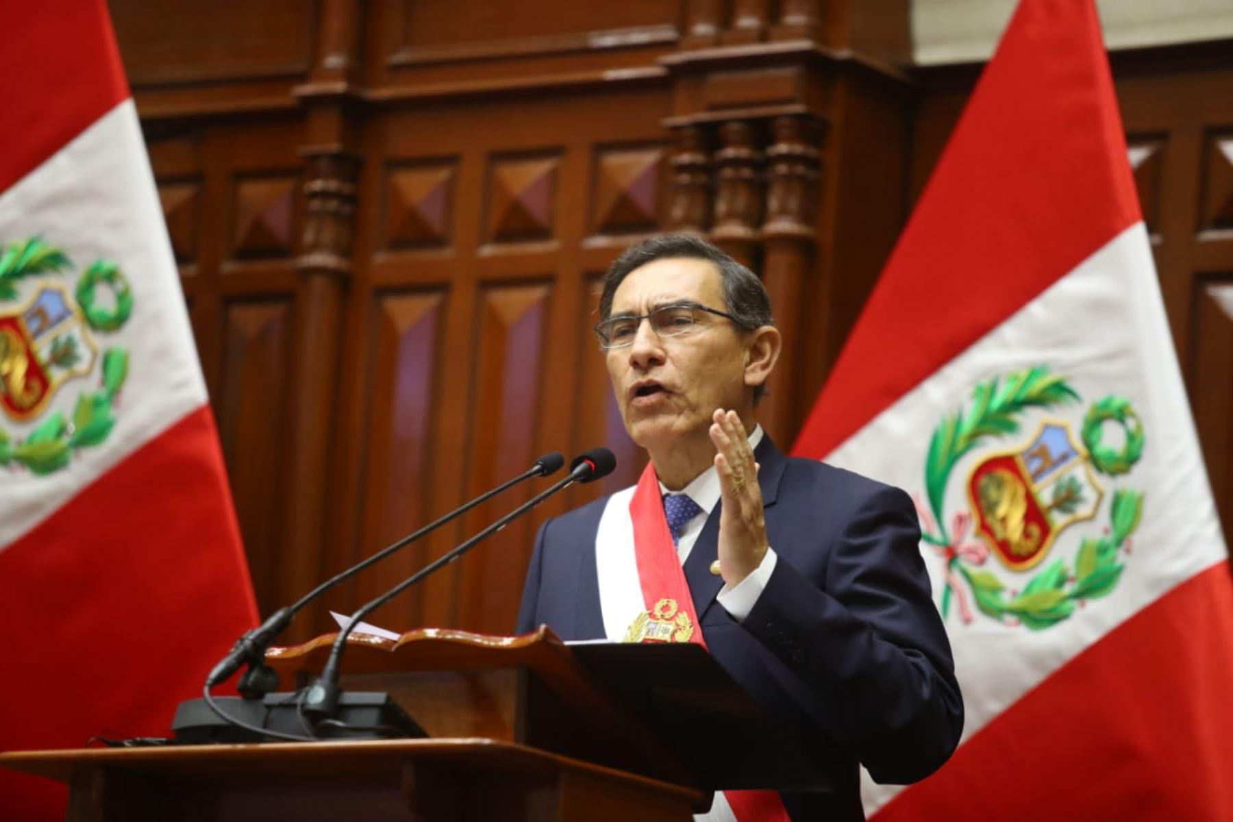 Mensaje a la Nación: lee las frases más destacadas del presidente ...