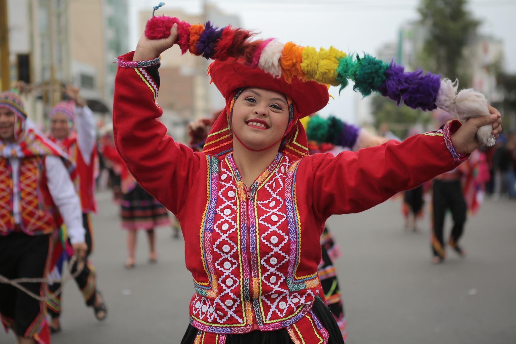 El huaino es la variante de la canción andina más conocida. ANDINA/Prensa Presidencia