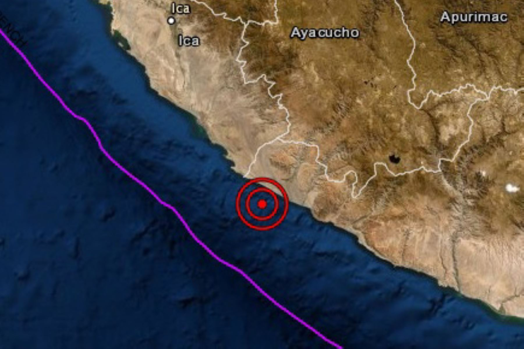 A las 13:46 horas se registró un sismo de magnitud 4 en la región sureña de Arequipa, reportó el IGP.