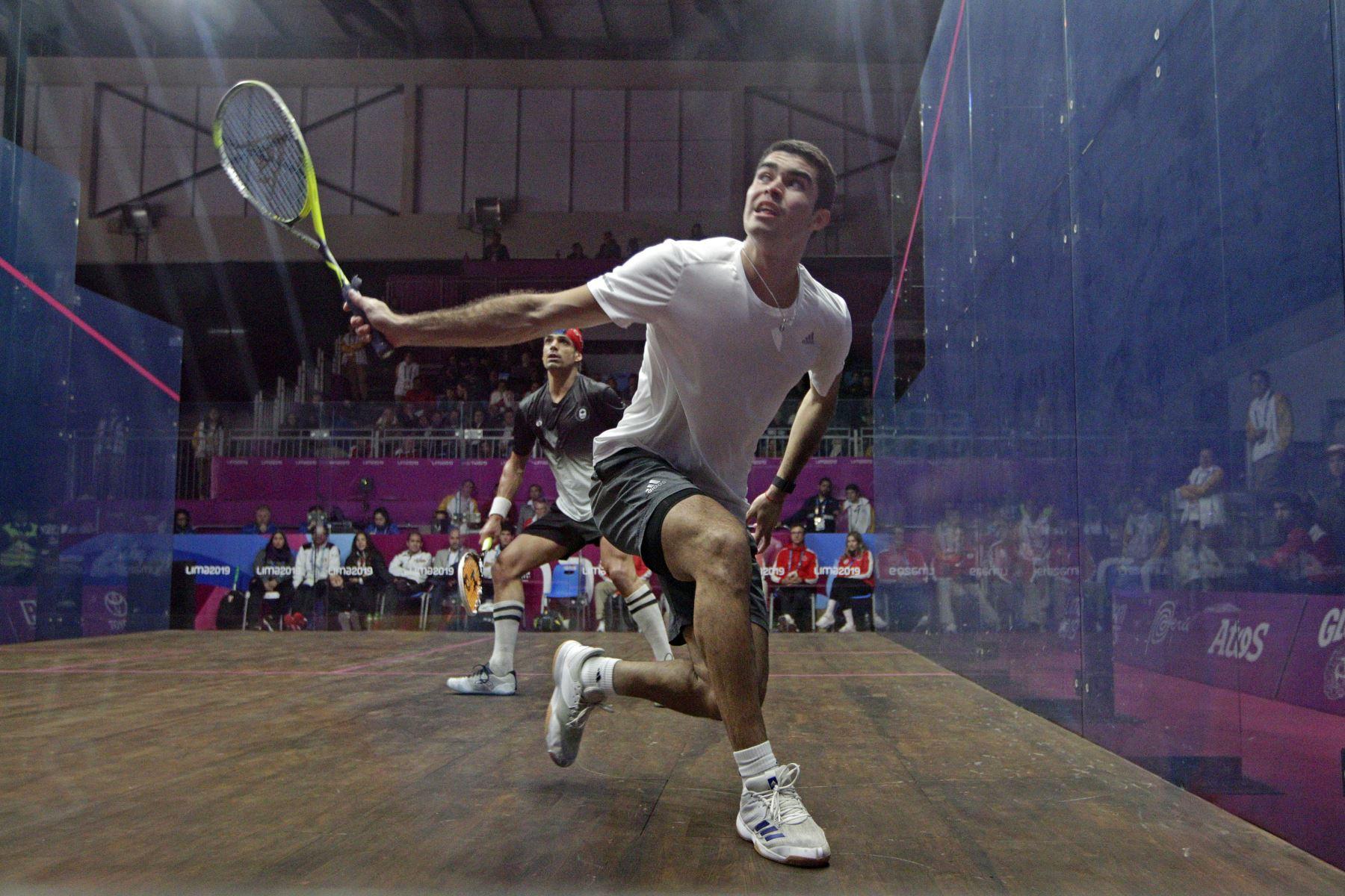 Peruano Diego Elías se mantiene triunfador en el Campeonato Mundial de Squash