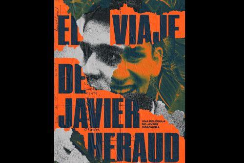 Afiche de la película El viaje de Javier Heraud ANDINA/Difusión