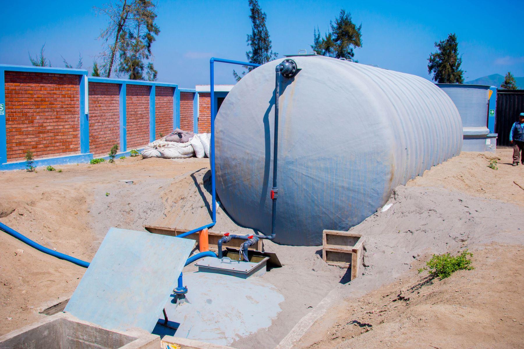 Este mes entra en funcionamiento la planta de tratamiento de aguas residuales en distrito de Pativilca, región Lima. ANDINA/Difusión