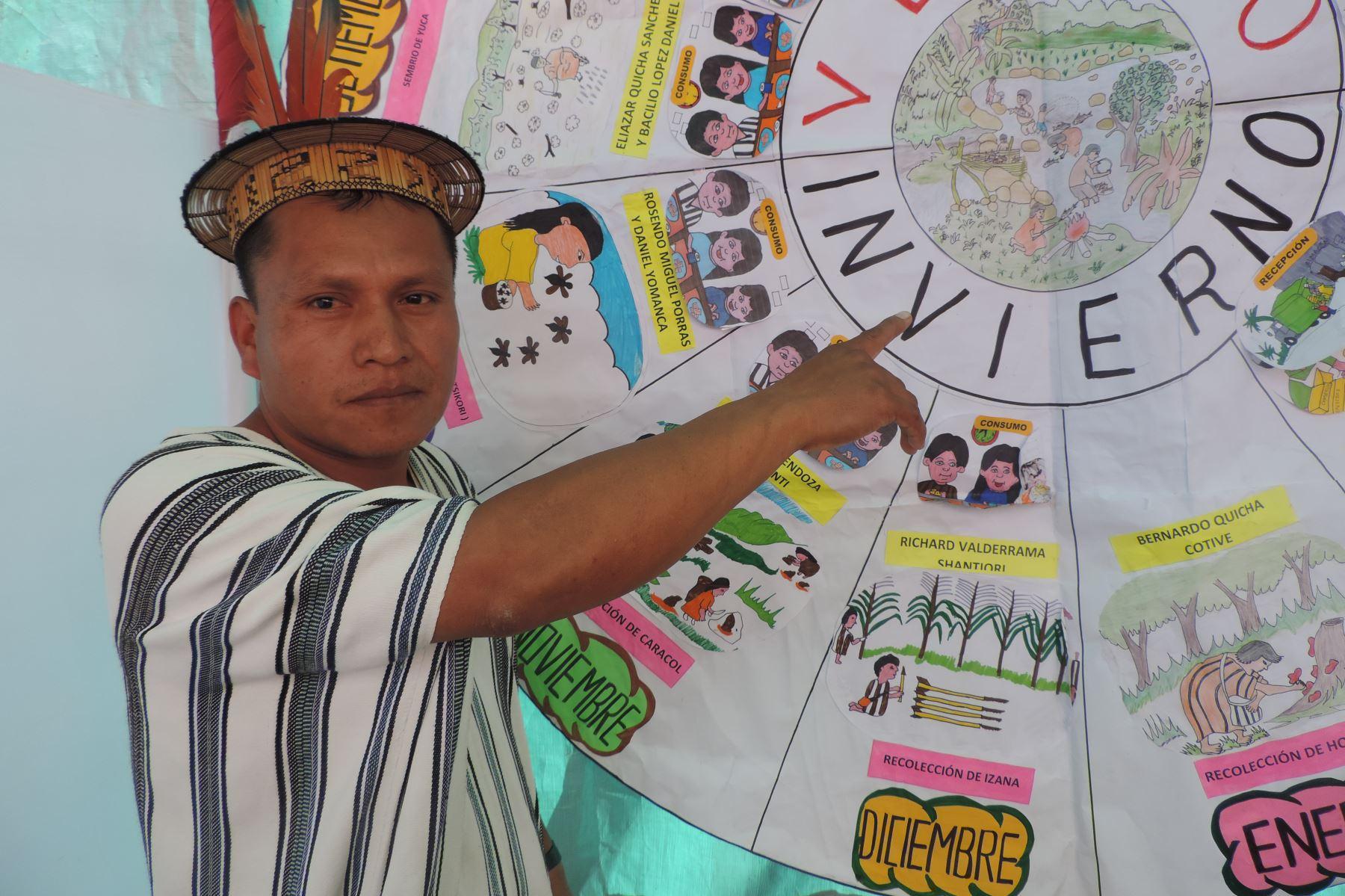 Servicio alimentario de Qali Warma ya forma parte de calendario asháninka de comunidad indígena de Junín. ANDINA/Difusión