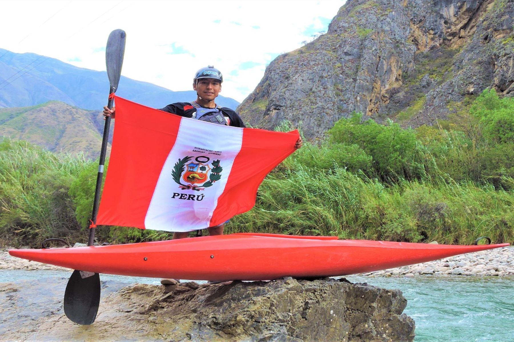 Lima 2019: deportista apurimeño clasificó a la semifinales de canotaje slalom extremo