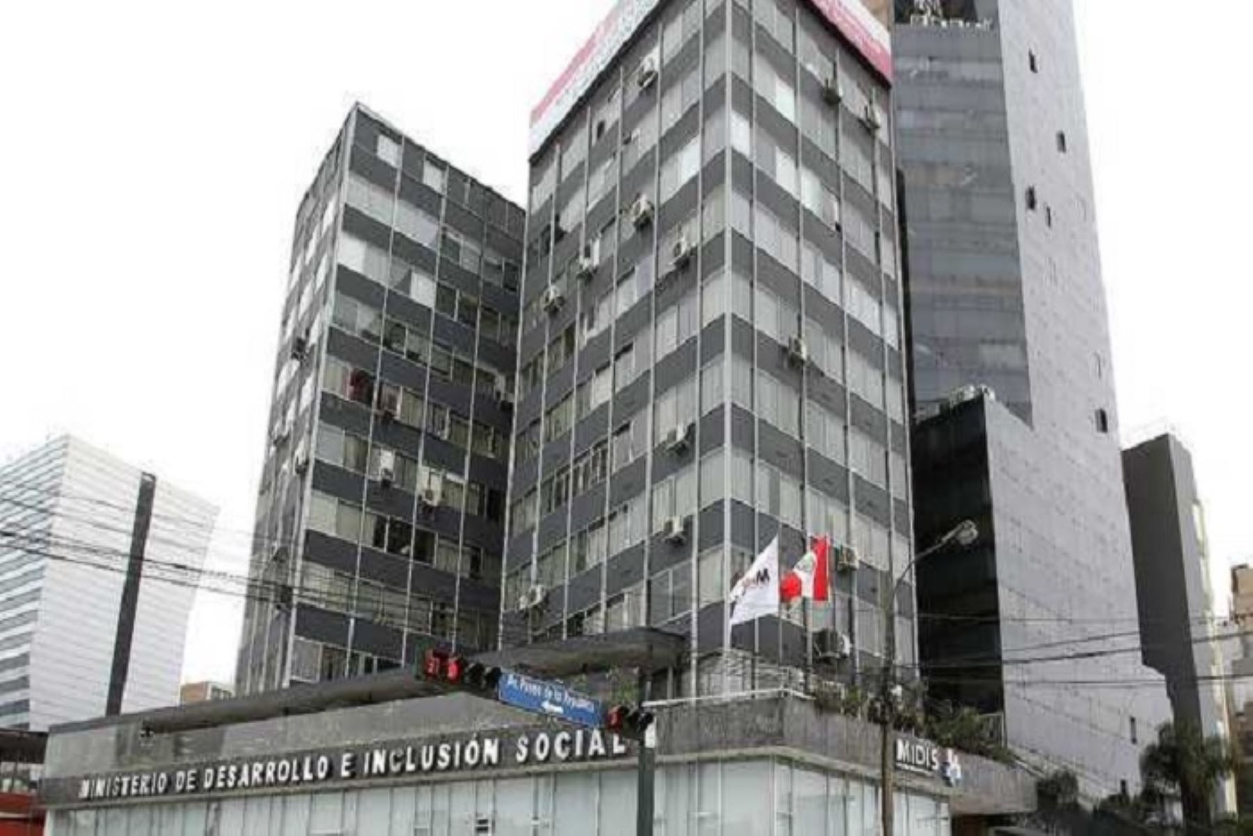 Sede del Ministerio de Desarrollo e Inclusión Social. Foto: ANDINA/Difusión.