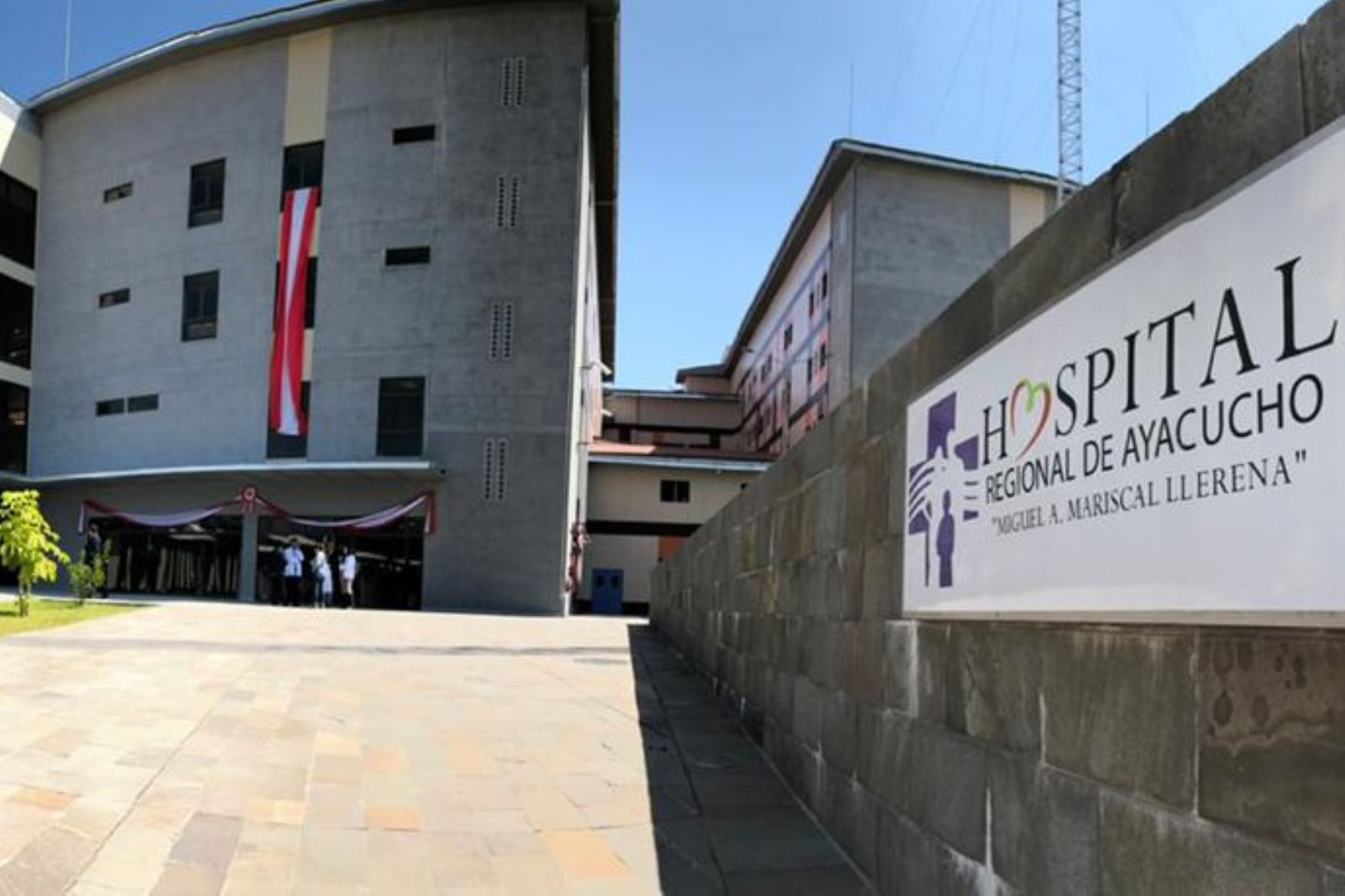 El nuevo Hospital Regional de Ayacucho está ubicado en el distrito de Andrés Avelino Cáceres. Foto: ANDINA/Minsa