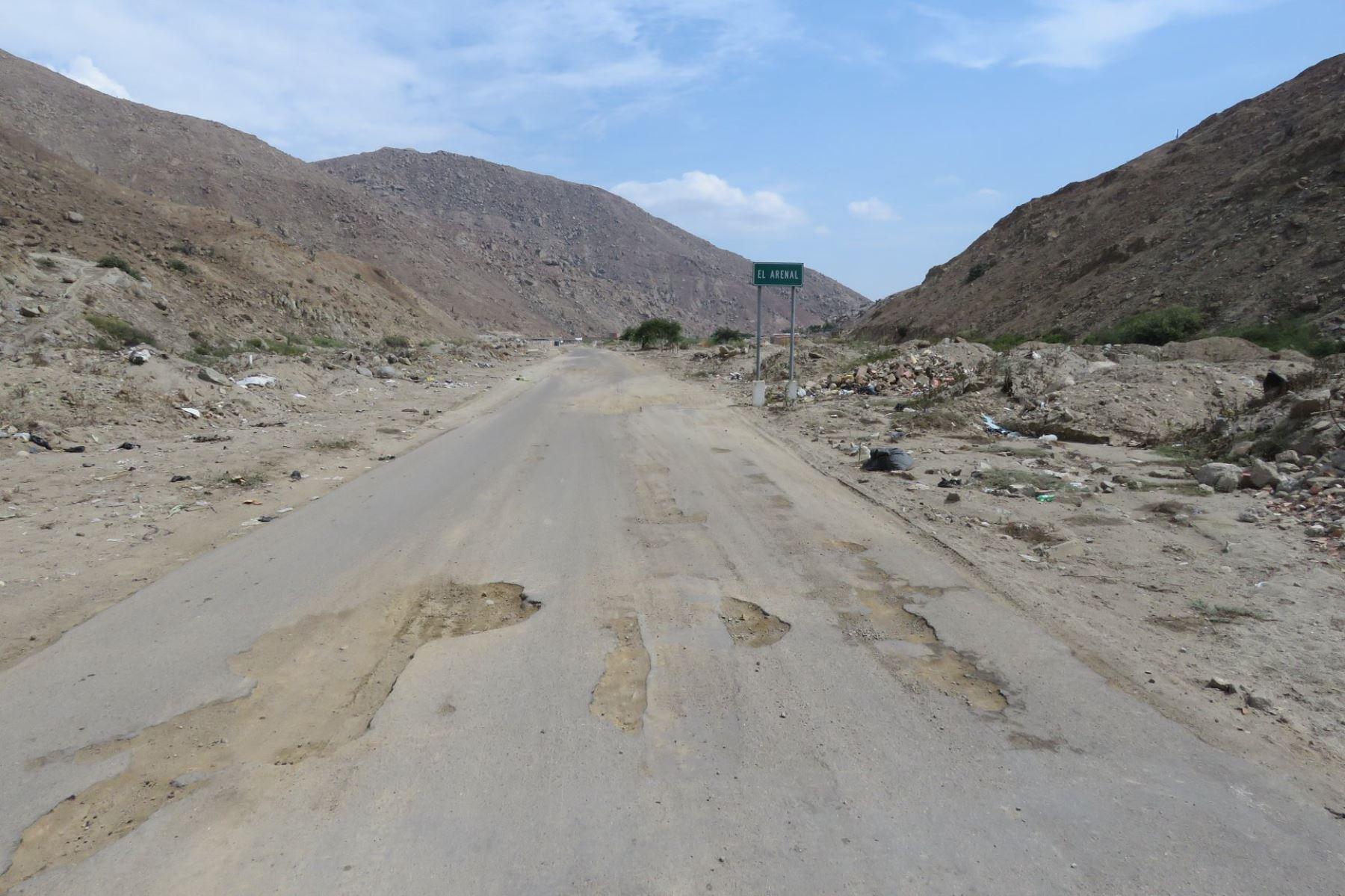 Anuncian el inicio de trabajos de reconstrucción en dos tramos de carretera de Áncash. ANDINA/Difusión
