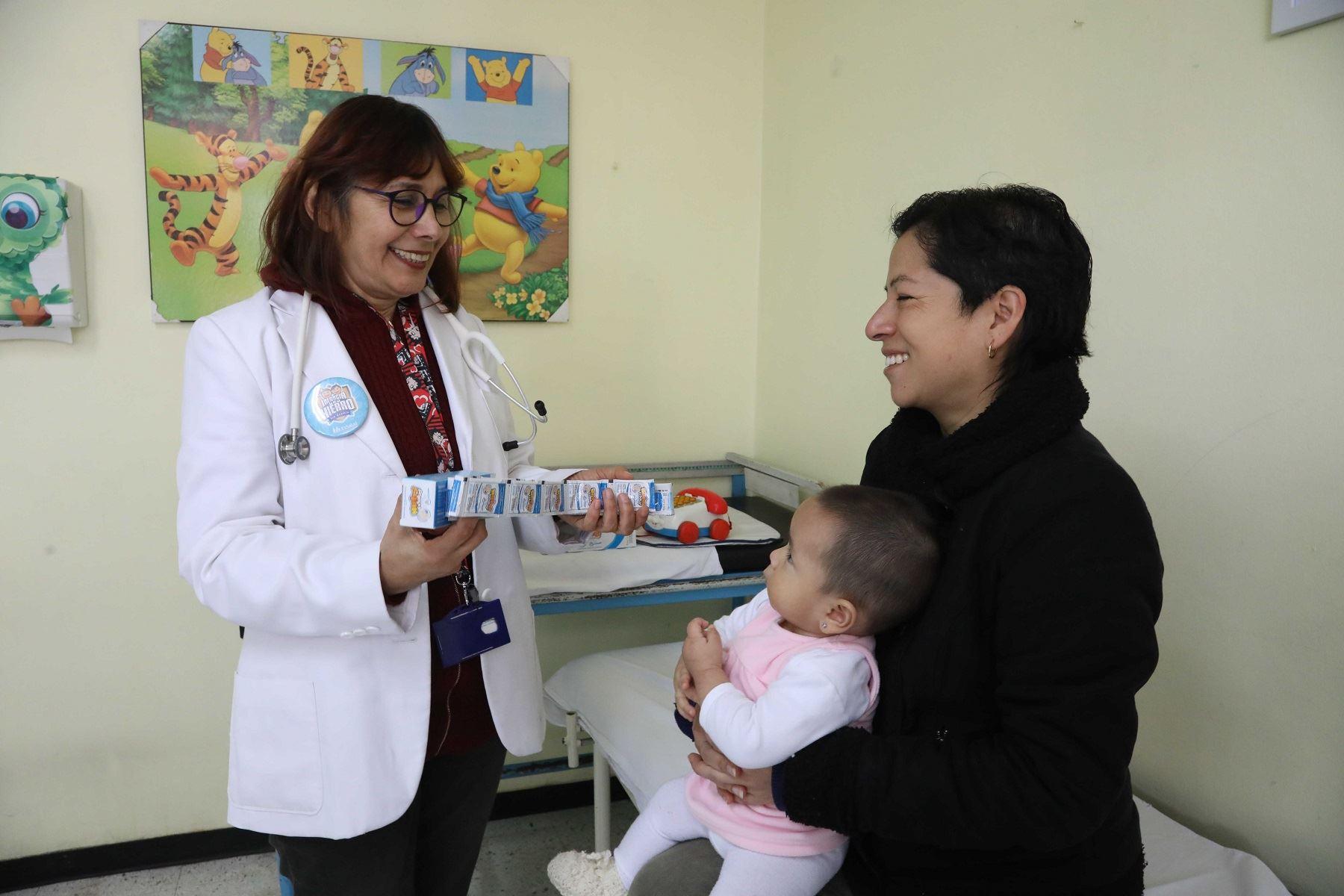 Realizan tamizaje de anemia a más de 200 mil niños menores de 3 años