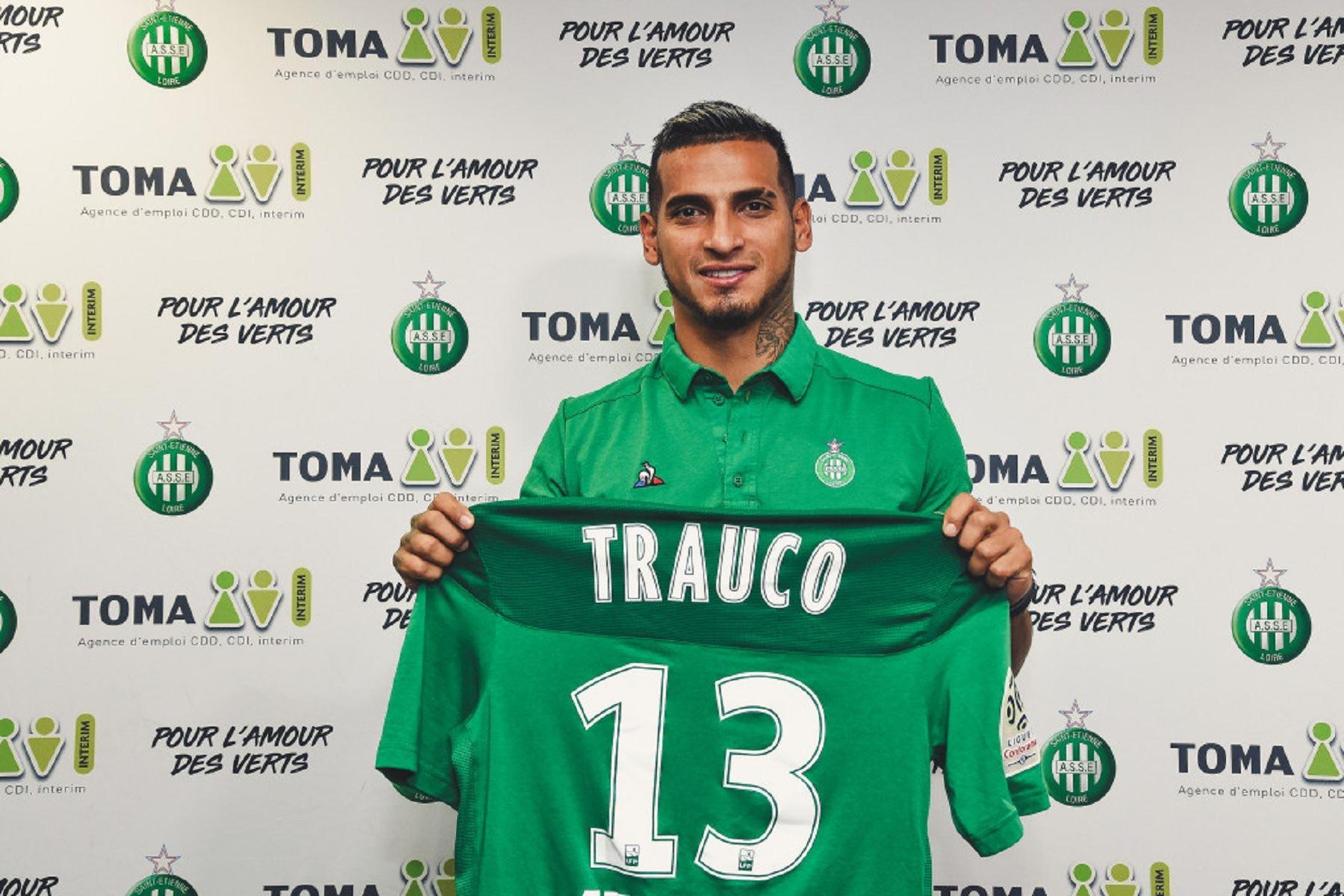 Miguel Trauco jugará en la Ligue 1. Foto: Saint Etienne.