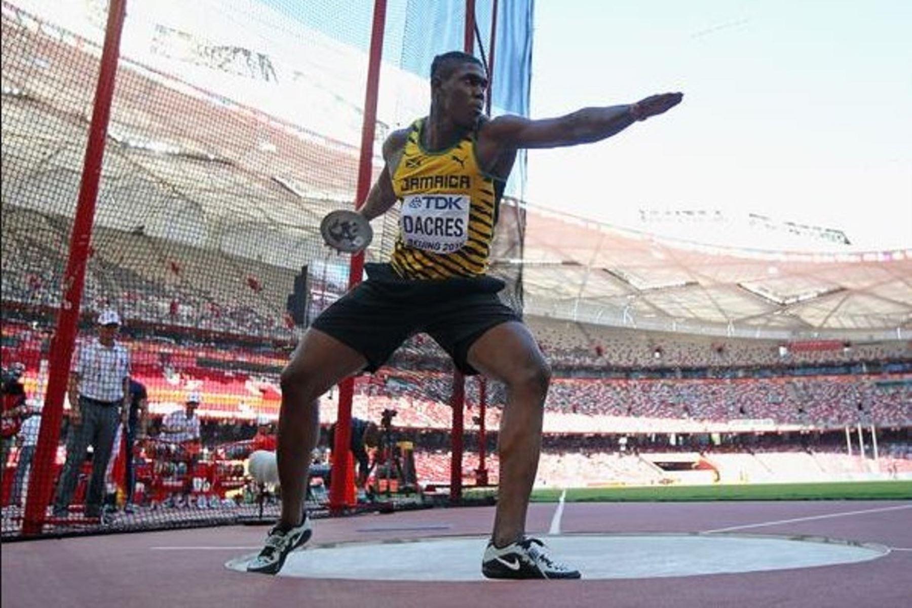 Fedrick Dacres impone nuevo récord panamericano en Lima 2019. Twitter