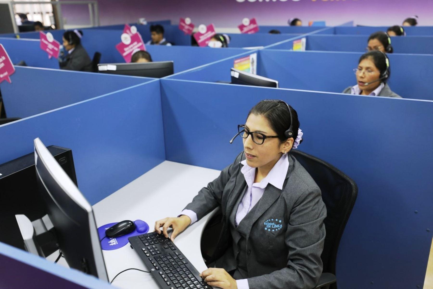 EsSalud otorgó más de 5 millones de citas por teléfono en primer semestre. Foto: ANDINA/Difusión.