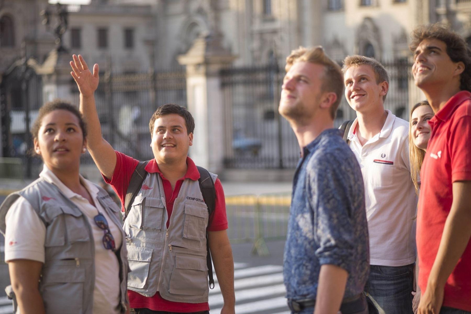 Turistas en Lima. ANDINA/Difusión