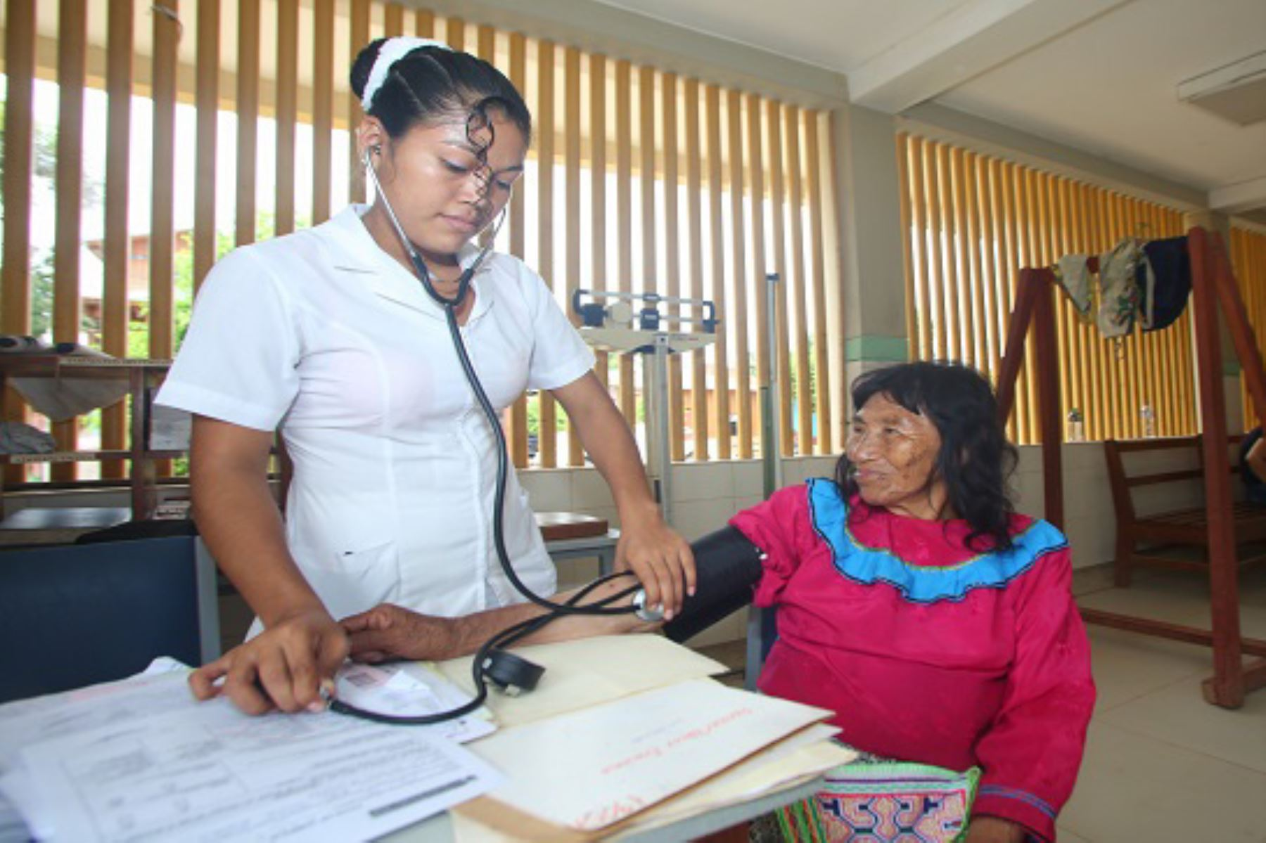 Defensoría del Pueblo pide fortalecer medidas de prevención en las comunidades indígenas para evitar que el coronavirus las afecte.  ANDINA/Difusión