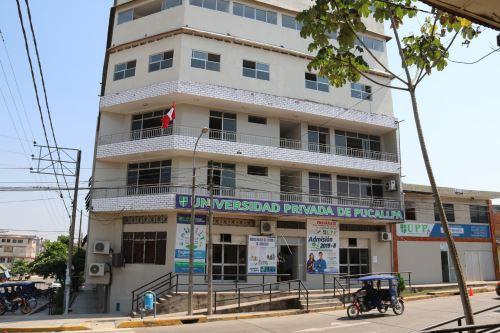 La Universidad Privada de Pucallpa deberá iniciar un proceso ordenado de cese de actividades académicas, con un plazo máximo de dos años. Foto: Sunedu