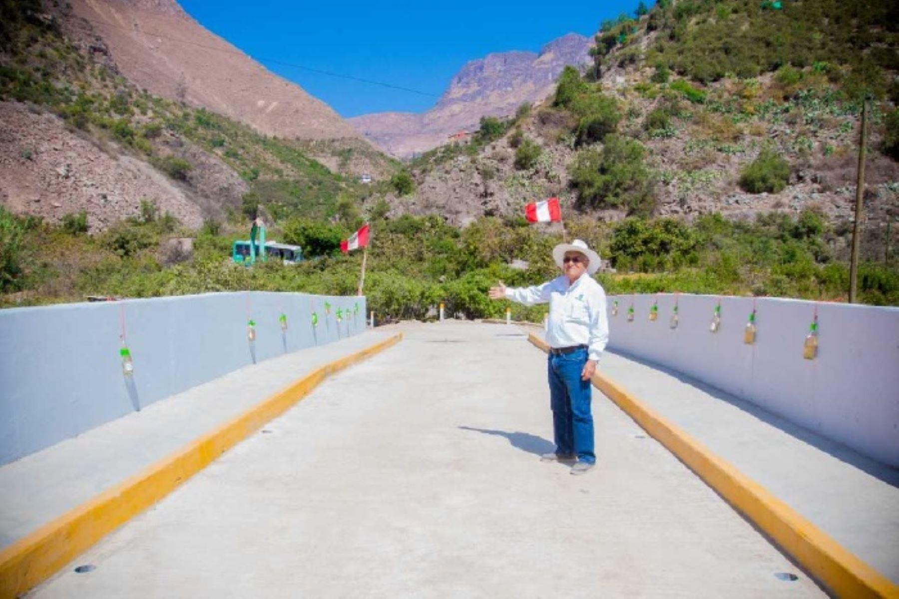 La obra en su II meta comprenderá el mejoramiento de 5 kilómetros de la carretera Río Seco-Laya-La Pedrera.
